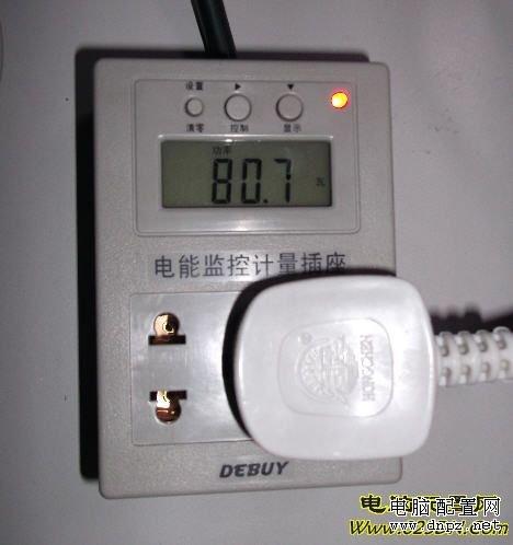 整机功率(包括主机+显示器)仅仅80W