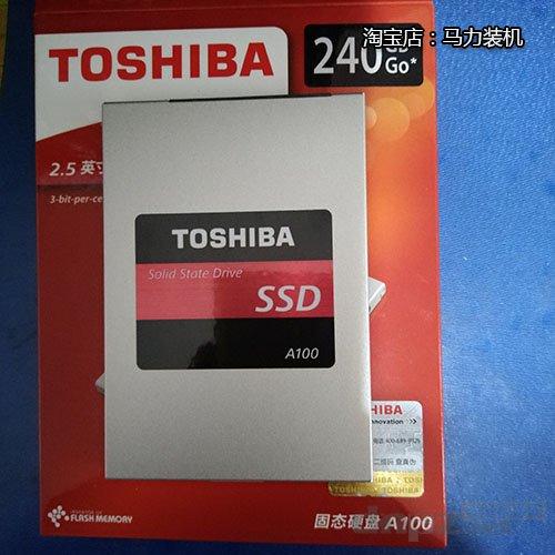 东芝A100 240G SSD