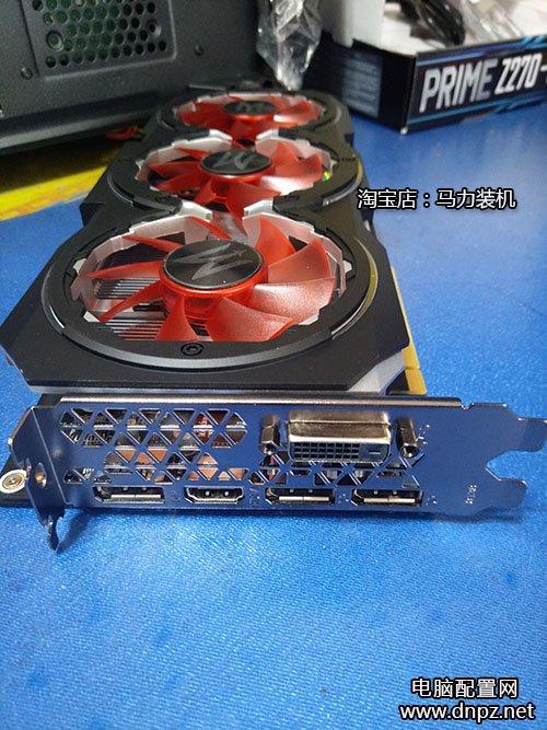 影驰GTX1060 GAMER 6GD5