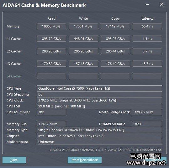 B250主板2400频率内存降低成2133?