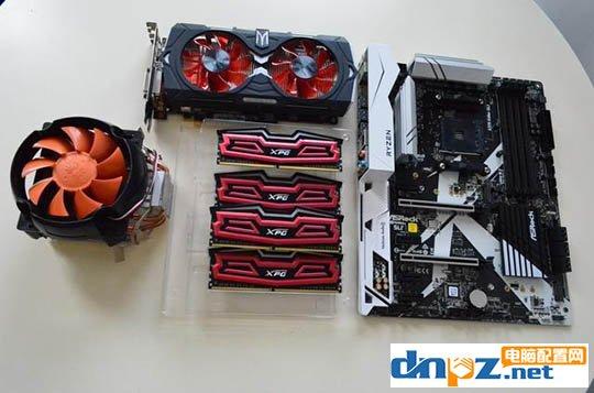 装机教程:AMD锐龙R7-1700X+GTX1050装机实录
