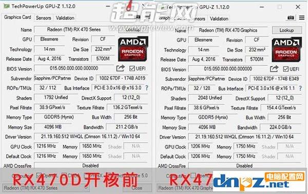 rx470D开核